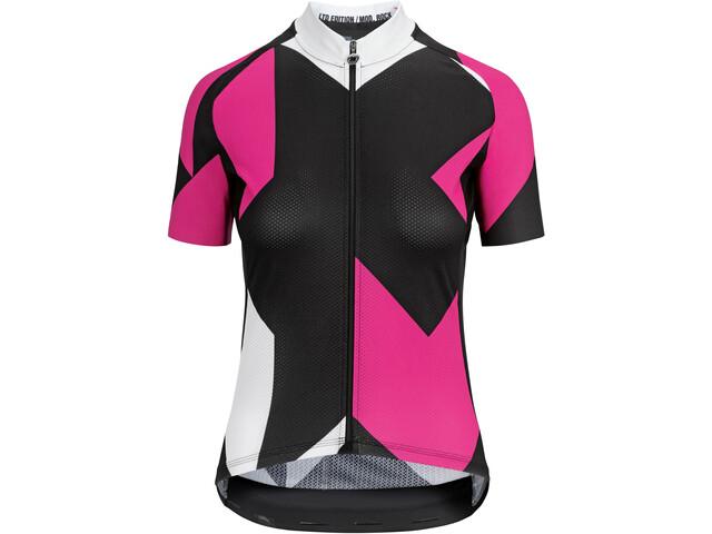assos Fastlane Rock Koszulka z krótkim rękawem Kobiety, pong pink